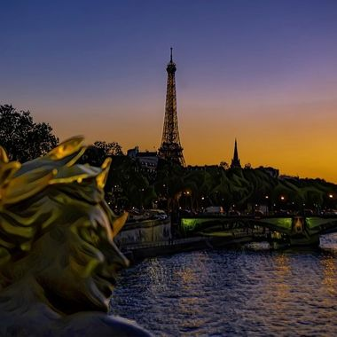 Pont Alexandre III painted