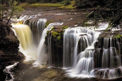 Lower Lewis River Falls, Washington