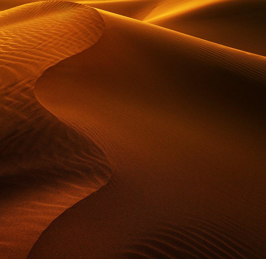 Sunset in Bafq Desert - Iran