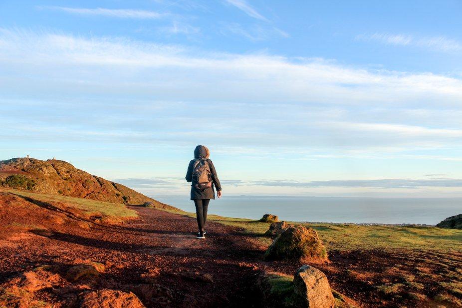Hike to Arthur's Seat, Edinburgh