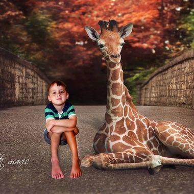 {David} A Day with a Giraffe