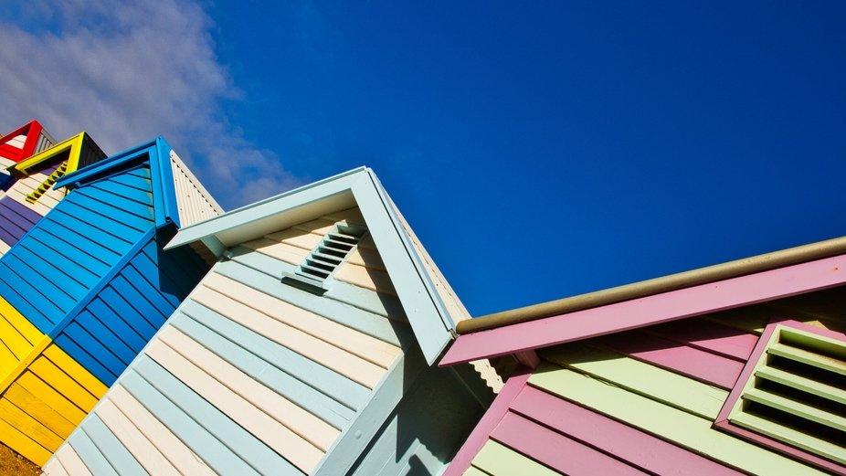 Brighton beach boxes.