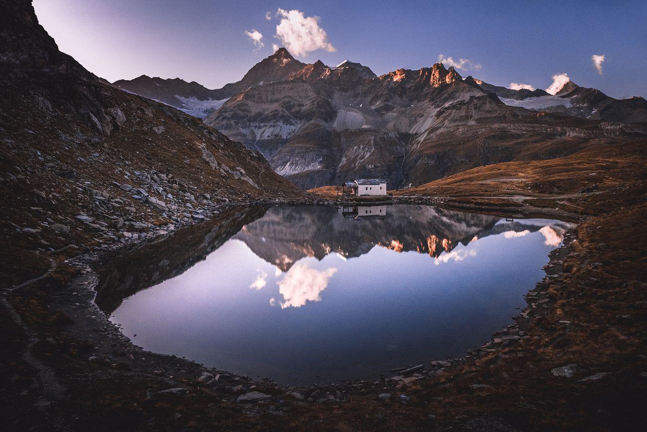 Mirror Matterhorn church