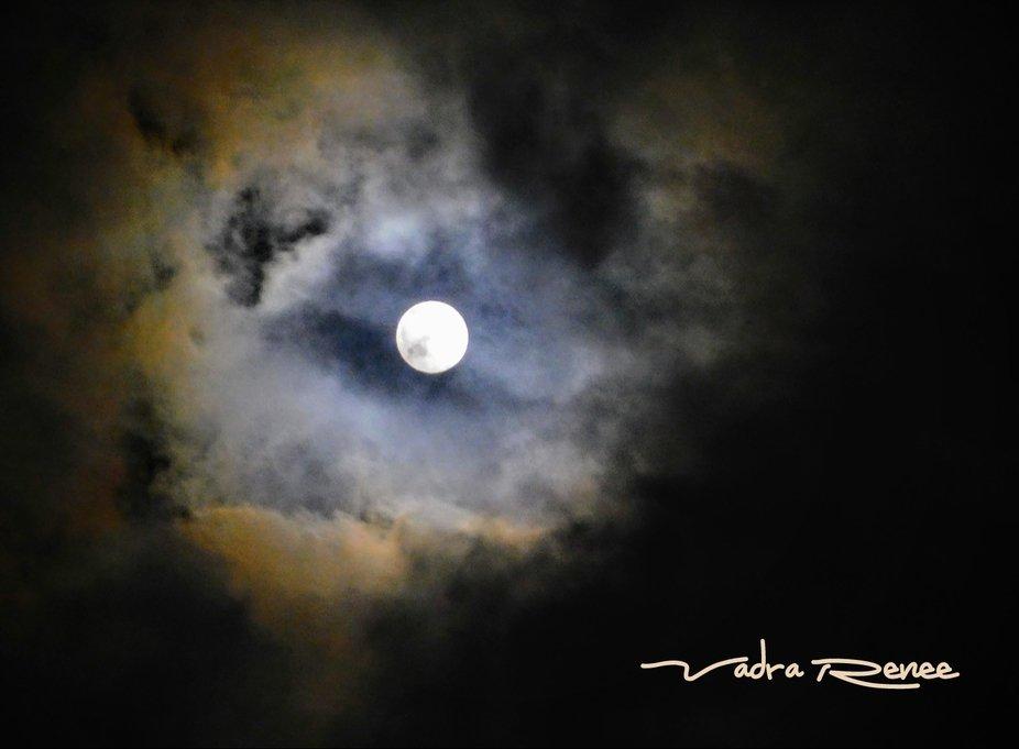 Beautiful Hunter's moon