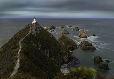Nugget Point light house
