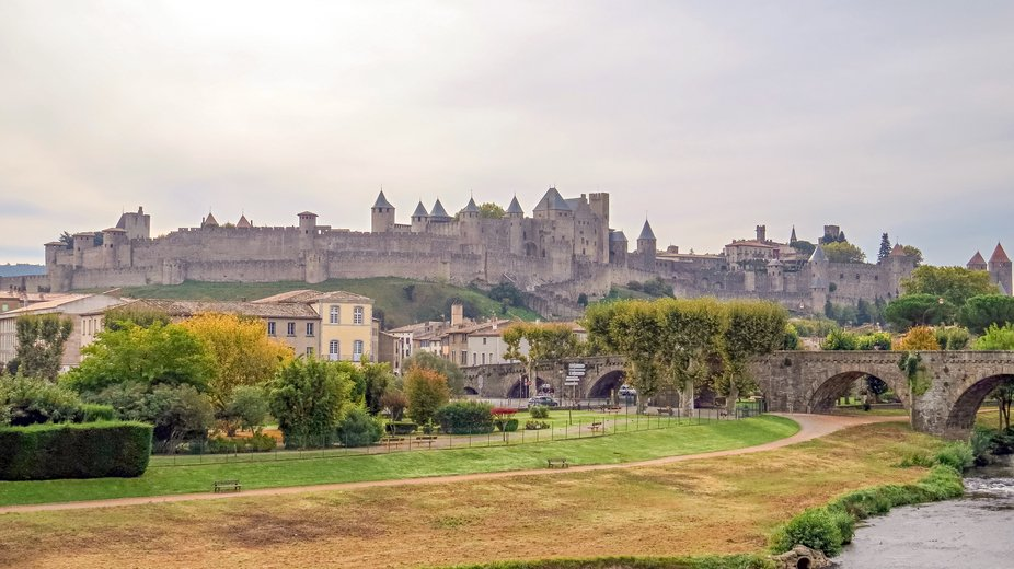 Carcassonne Medieval Citadel in Southern France