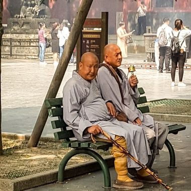 Image captured at te Lama Temple, Beijing, China.