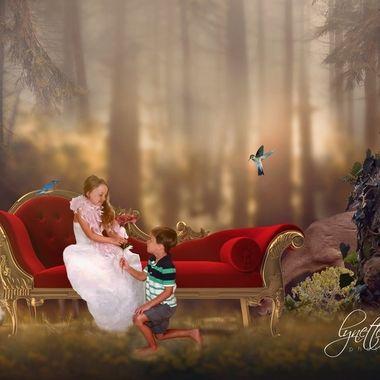 {David & Samantha} Fairytale Proposal