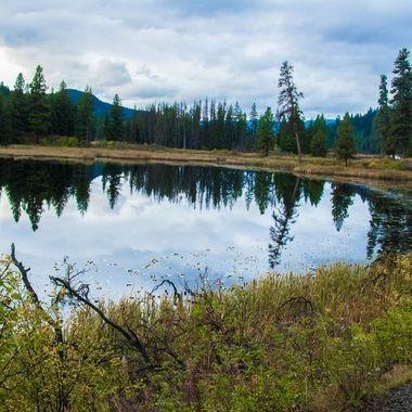 Davis Lake is near Merritt B C