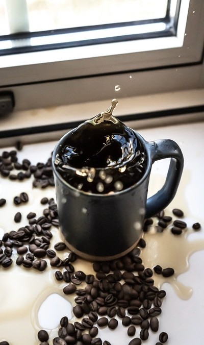 Coffe splash