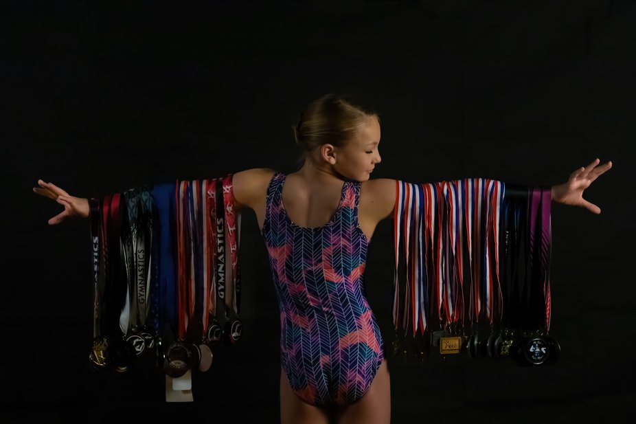 One of our granddaughters is a great gymnast, as is evidenced by the medals she has earned. This ...