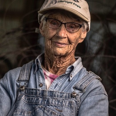 Im inspired by the amazing woman.  She farmed her place for decades and is still going strong at 97.  I recently stopped by and was not surprised ti see the farm in tip-top shape.