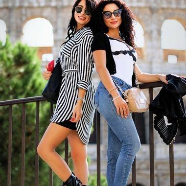 Two Sicilian women in Rome.