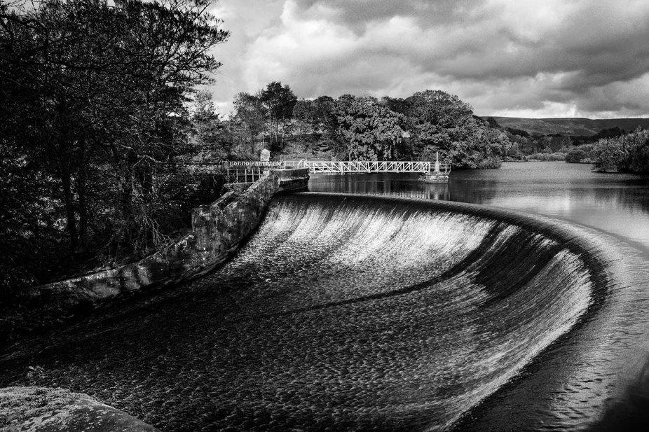 The wier at Abbeystead