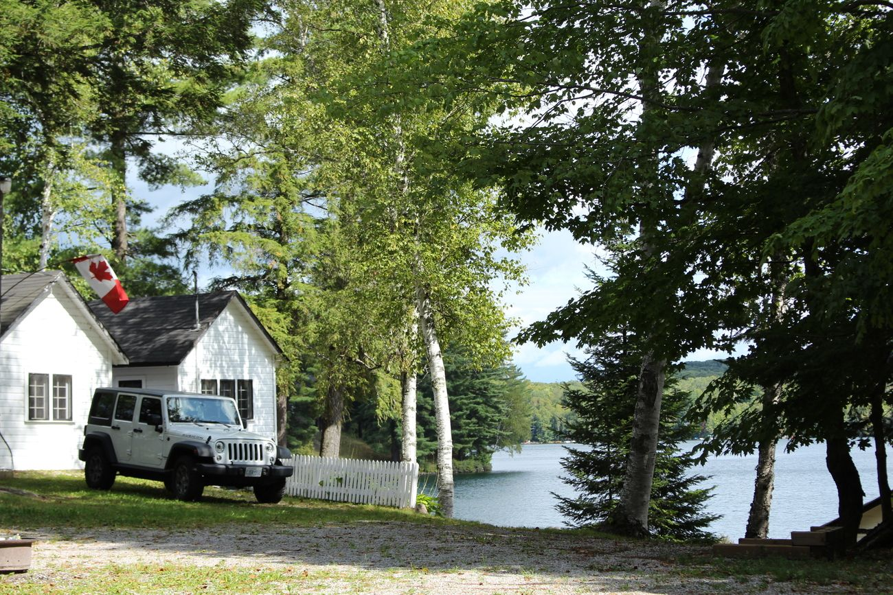 Taken in late August, 2019...taking our new Jeep to the cottage in the Muskoka region in Ontario.