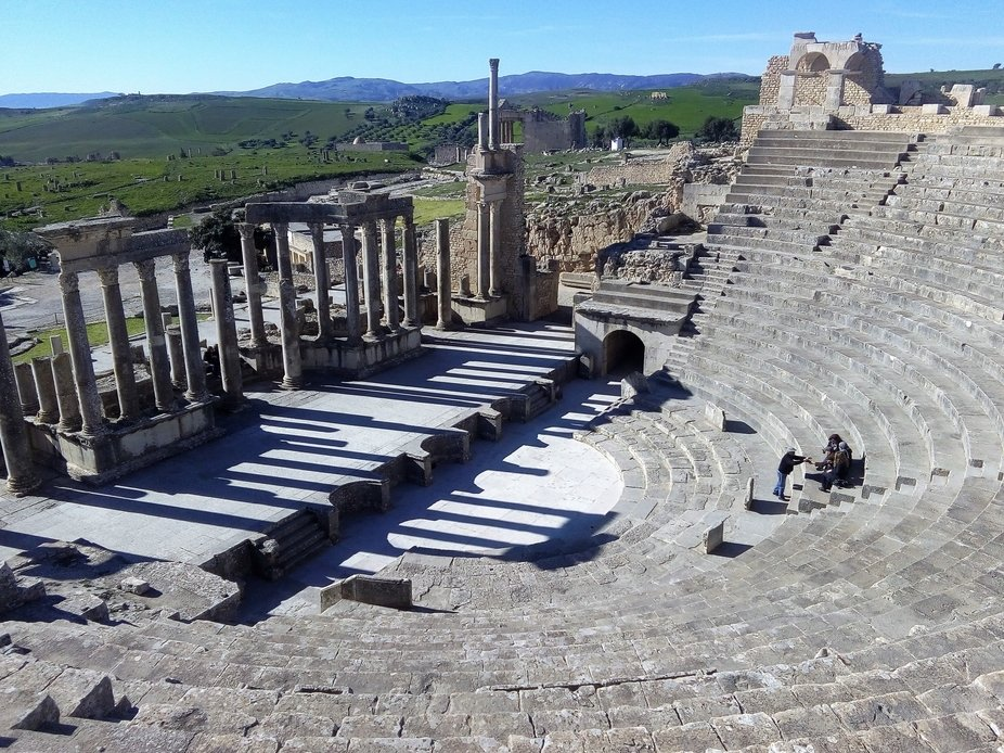 UNESCO ranked the Dougga site on the World Heritage List in 1997, considering it to be the &q...
