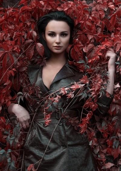 Red autumn feelings