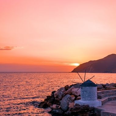 Aegiali Sunset, Amorgos