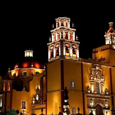 Guanajuato cathedral, Guanajuato, México