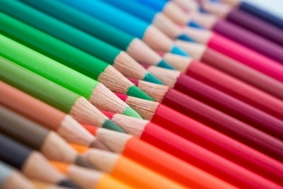 Colourful diagonal