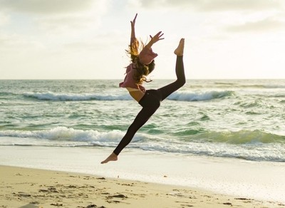 Dancer on the Beach