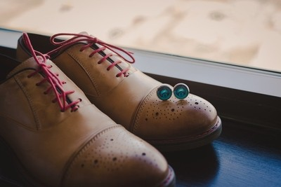 Shoes and Cuff links