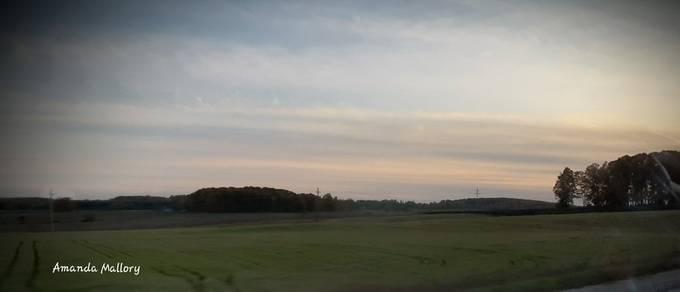 Open fields of Michigan