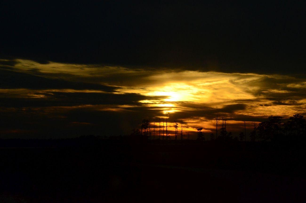 Sunset in Blackwater III