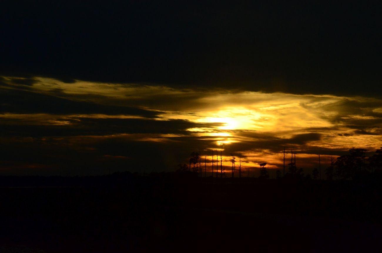 Sunset at Blackwater III