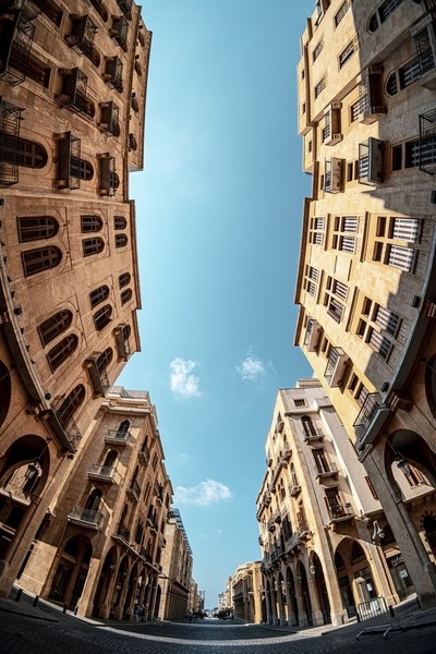 Look up in Beirut