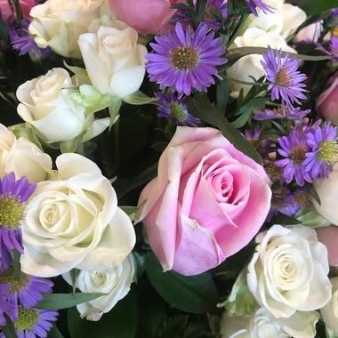 Spring bouquet in October.