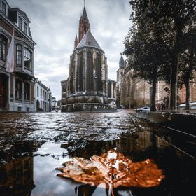 Discovering Maastricht (the Netherlands) in a rainy day