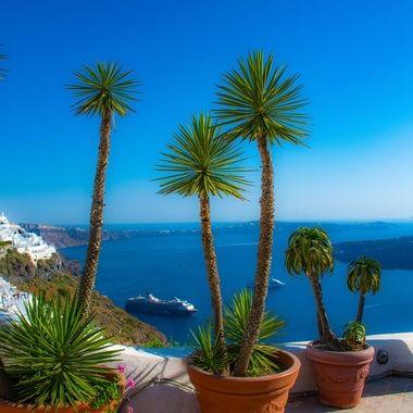 Caldera, Santorini