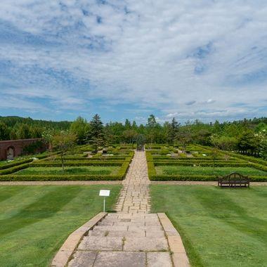 Yuni Gardens in Hokkaido, Japan