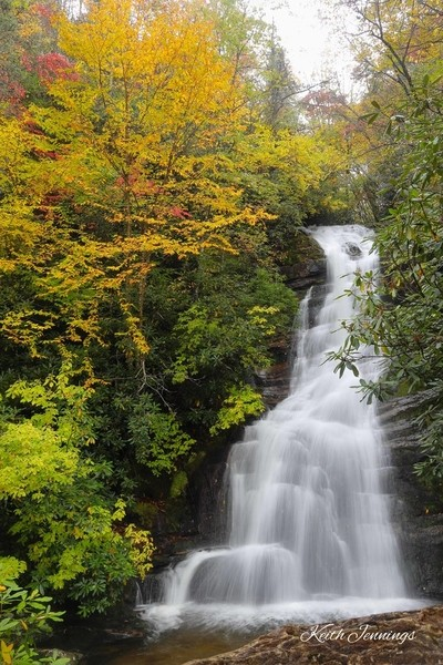 Autumn at Red Fork Falls