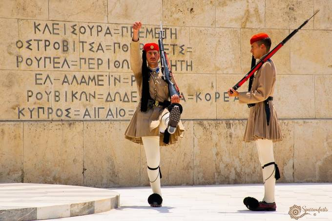 Changing of the Guard, Syntagma Square Athens