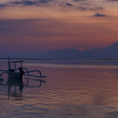 Boat by Agung