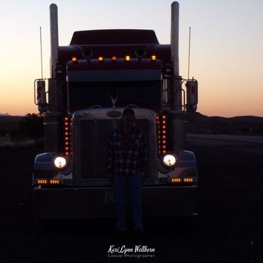 early morning trucking