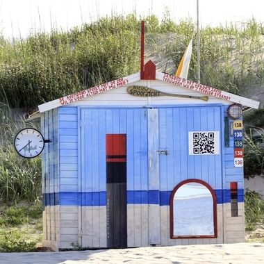 Art house at the beach, Texel, Holland