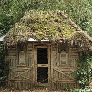 The hut in France where the writer George Sand used to retreat and write.