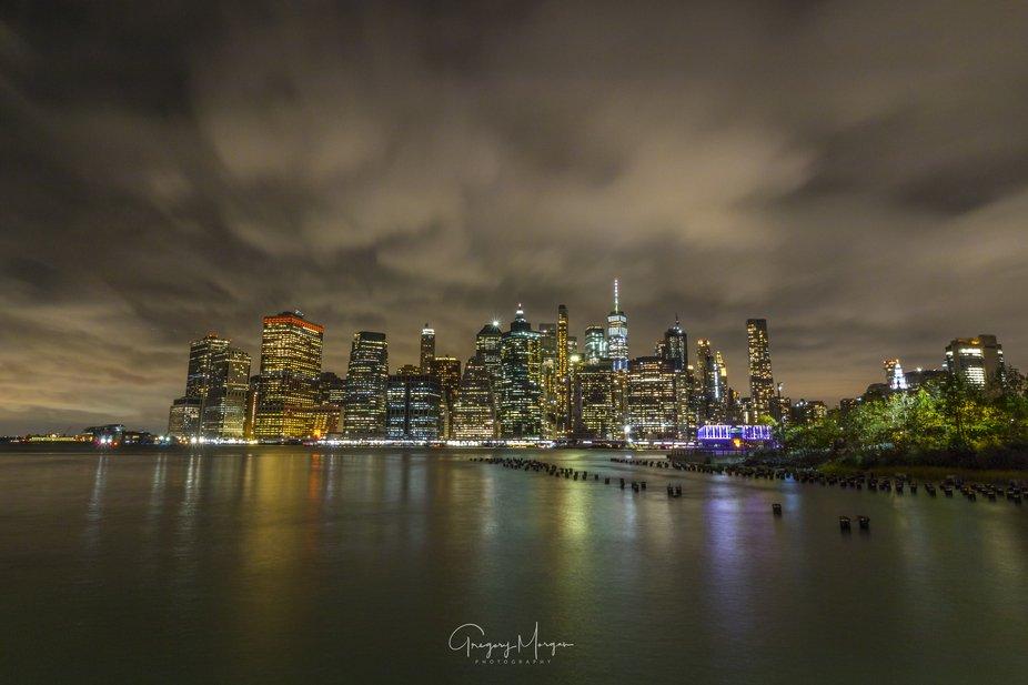 Skyline with Brooklyn park