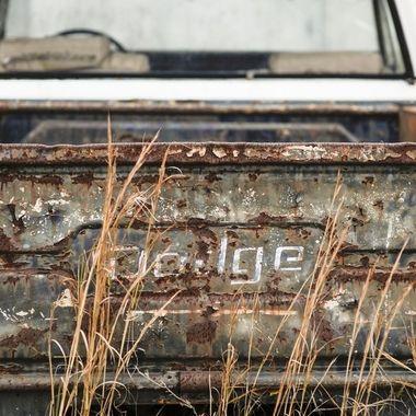 Rear of Dodge PU 23x35