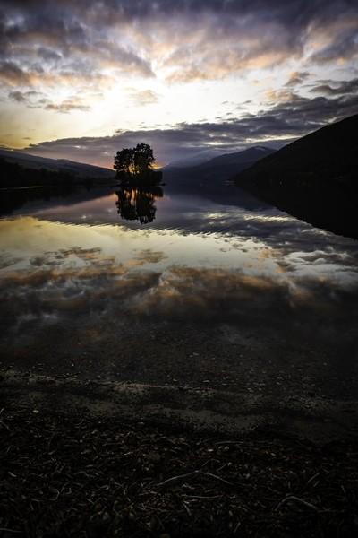 Dusk , Loch Tay
