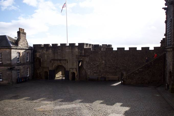 Main Gate at Stirling castle.