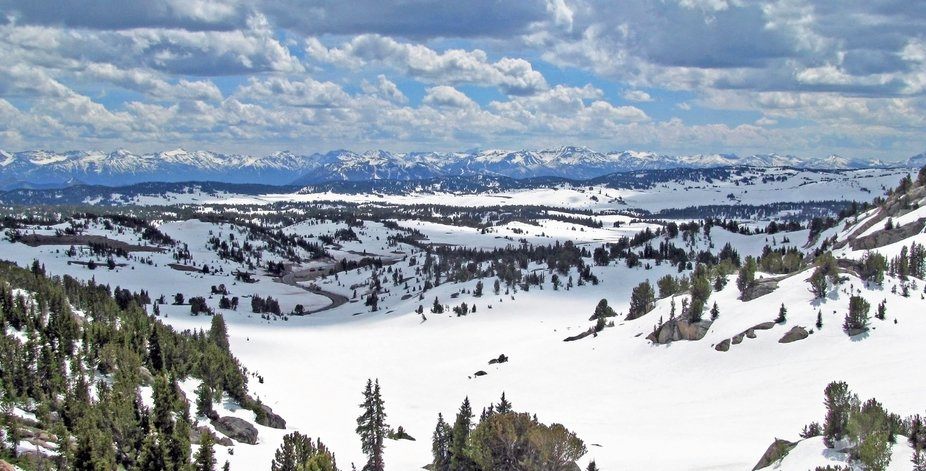 Beartooth Pass is 10,947 feet and goes from Red Lodge, Montana down to Cooke City.  It is well kn...