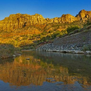 Virgin River Sunset IMG_8460