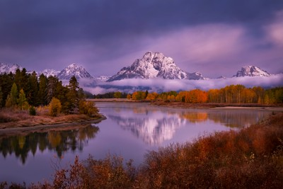 A Fine Morning in Jackson Hole