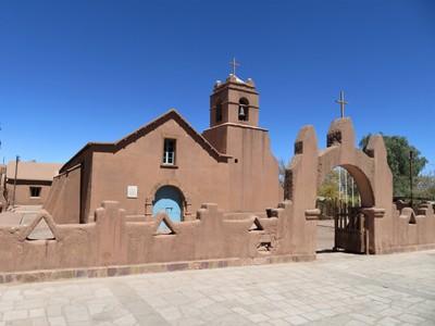 The Church of San Pedro de Atacama