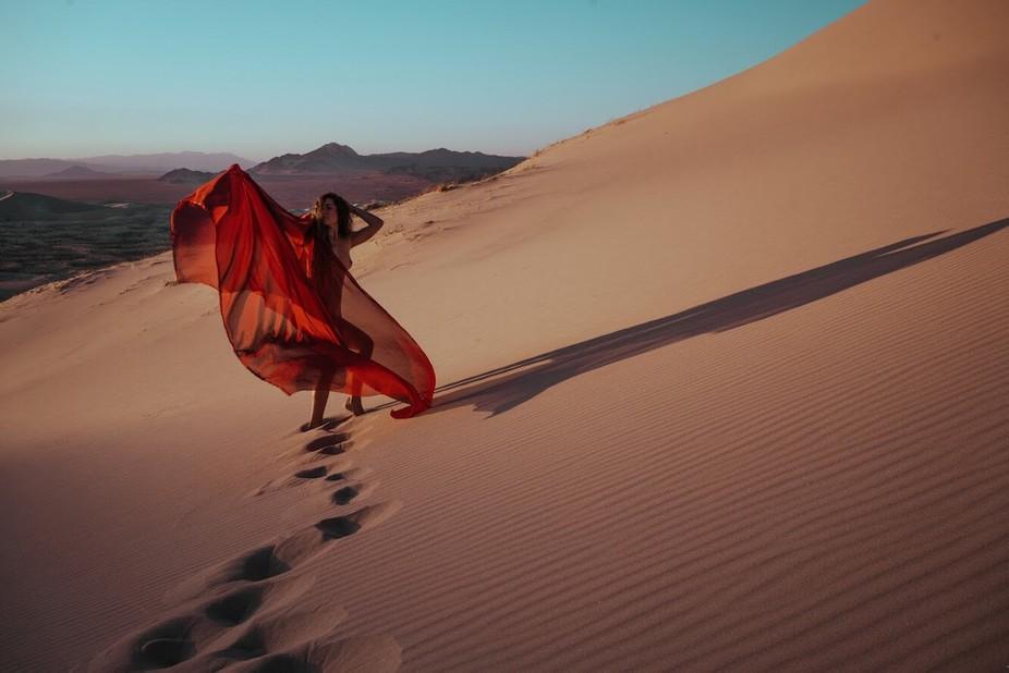 Dance of dunes.