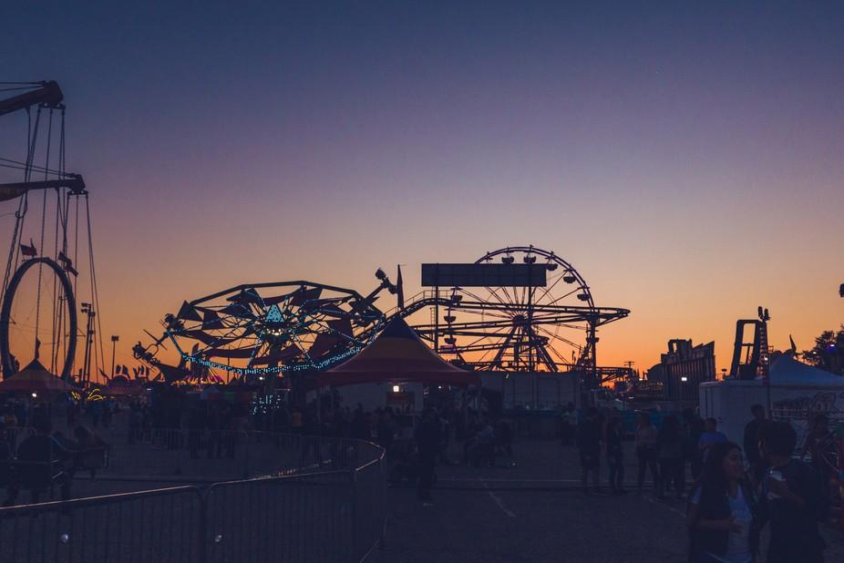State Fair Sunset
